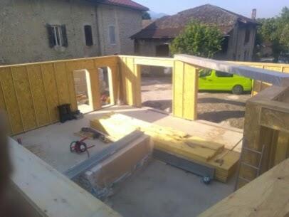 maison réalisé par un charpentier partenaire charpente zen