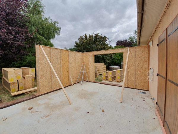extension bois blocs modulaires constructions écologique sur mesure