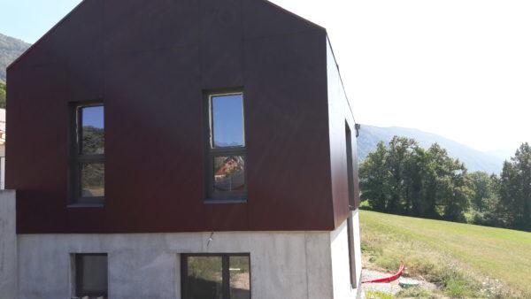 maison bois blocs construction modulaires second oeuvre finis