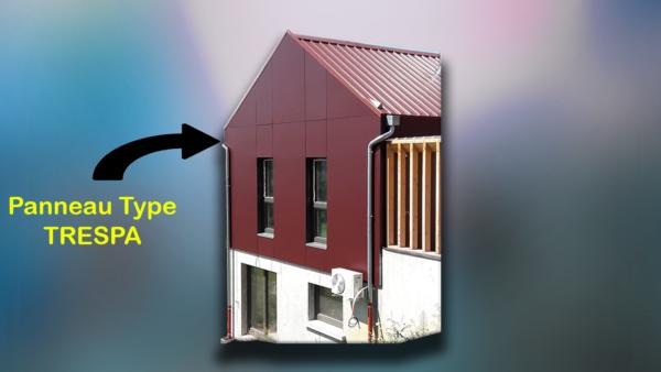 panneau type trespa bloc modulaires constructions ossature bois