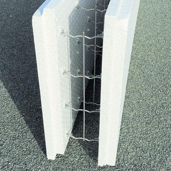 bloc isolant à bancher matériaux innovant