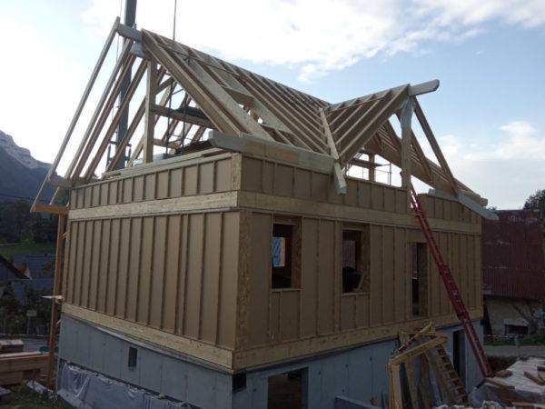 étapes construction maison bois en savoie