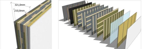 facade panobloc matériaux innovant