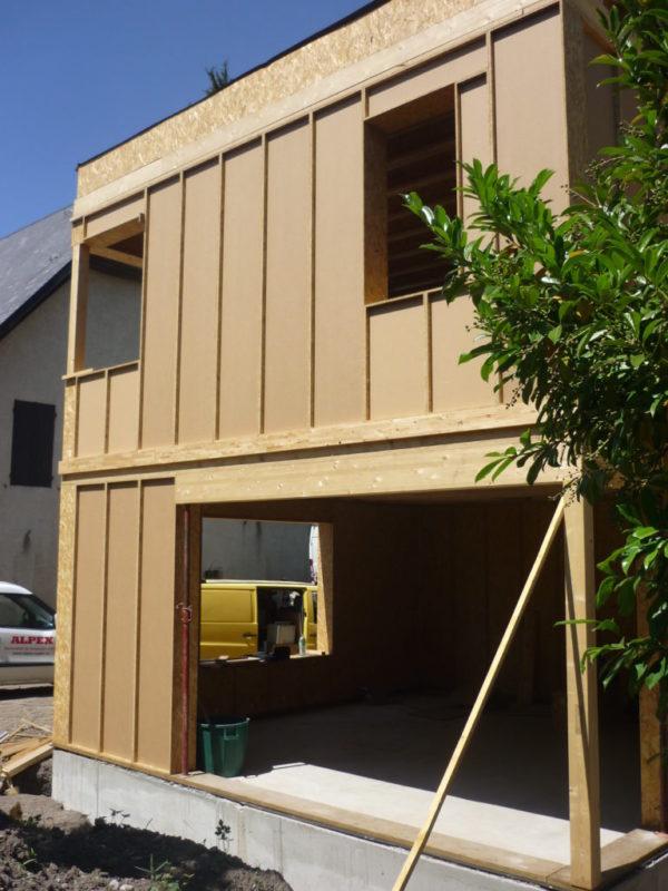 performance construction bois préfabriquées