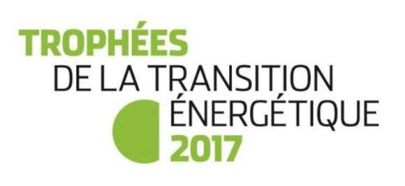 logo trophées transition énergétique 2017 vainqueur