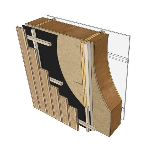 parements bardage bois blocs modulaires construction bois