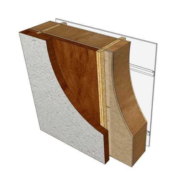 isolation complémentaire enduit minérale blocs modulaires construction bois