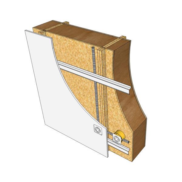 doublage intérieur blocs modulaires construction bois