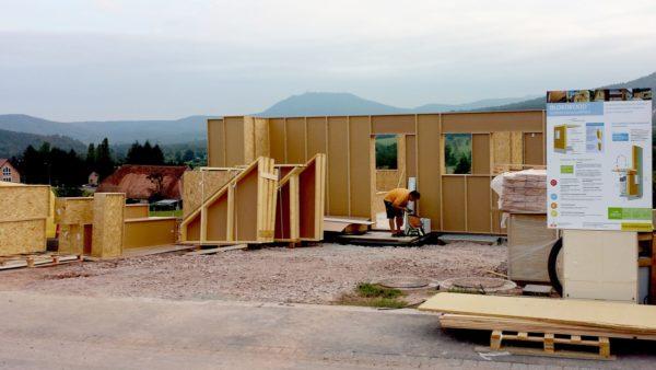 chantier propre gain de temps sérénités blocs modulaires ossature bois économique