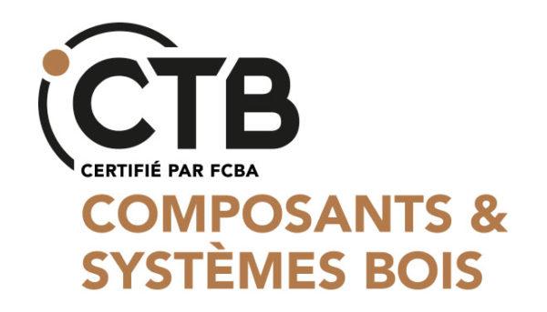 logo cab composant et système bois qualité blocs modulaires préfabriquée