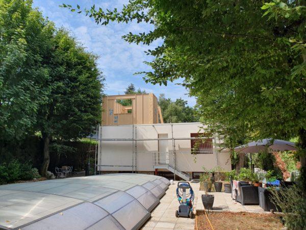 Surélévation bois blocs modulaires constructions écologique sur mesure
