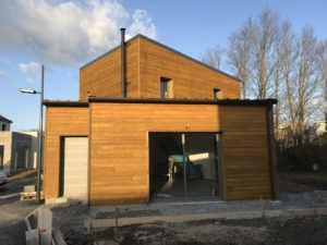 Maison moderne Blokiwood type ossature bois