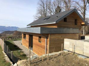 Maison en bois ossature bois