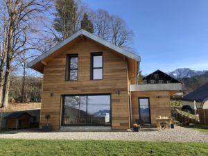 Maison en bois Isère ossature bois