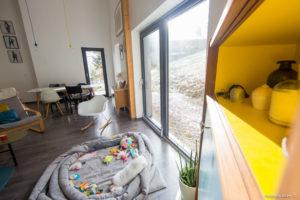 Intérieur maison en bois Isère