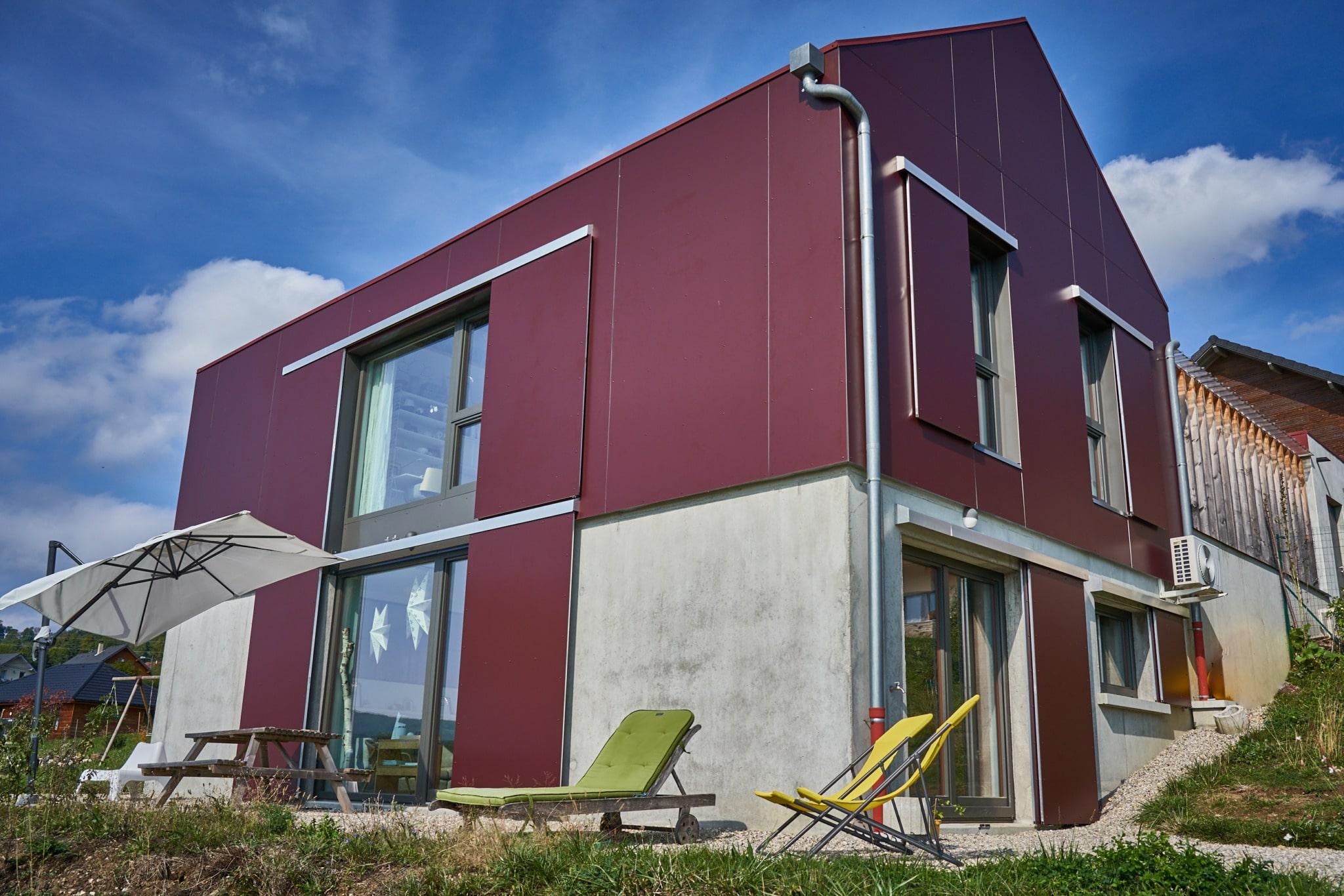 Maison bois, maison d'architecte