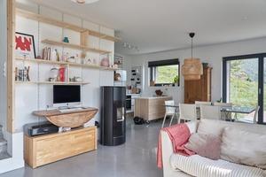 Intérieur maison en bois Savoie
