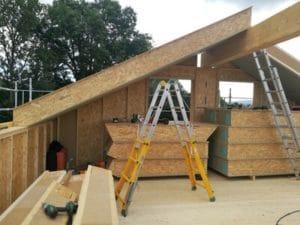 Maison bois maison neuve ain