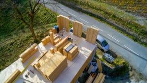 Maison blocs modulaires