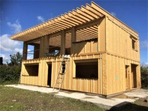 Maison ossature bois cote d'or