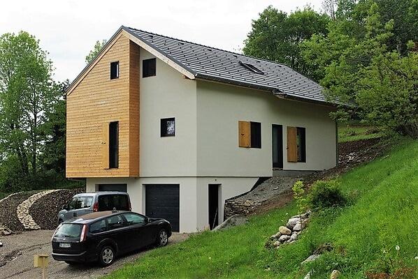 Maison ossature bois Loire