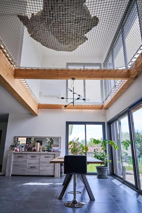 Intérieur maison bois